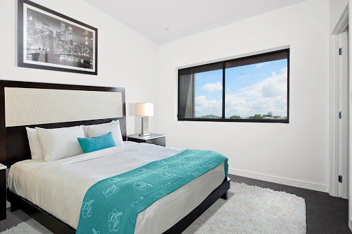 Example of a quiet and peaceful bedroom